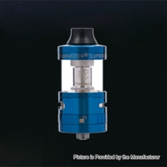 Authentic Steam Crave Aromamizer Supreme V2 25mm RDTA Rebuildable Dripping Tank Atomizer - Blue