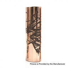 Rogue Style 18650/20700 Hybrid Mechanical Tube Mod - Copper
