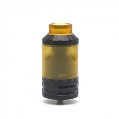 (Ships from Germany)Lysen Fatality Style 316SS 28mm RTA Rebuildble Tank Atomizer 2ml/4ml - Black