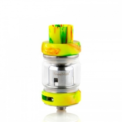 Authentic FreeMax Mesh Pro 25mm Subohm Clearomizer Tank 4ml/5ml - Green Resin