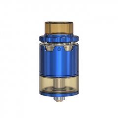 Pyro V2 Style 24mm RDTA Rebuildable Dripping Tank Atomizer w/ BF Pin 4ml - Blue