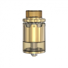Pyro V2 Style 24mm RDTA Rebuildable Dripping Tank Atomizer w/ BF Pin 4ml - Gold