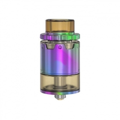 Pyro V2 Style 24mm RDTA Rebuildable Dripping Tank Atomizer w/ BF Pin 4ml - Rainbow