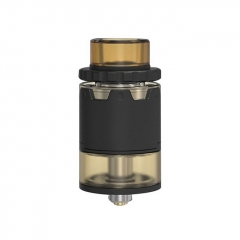 Pyro V2 Style 24mm RDTA Rebuildable Dripping Tank Atomizer w/ BF Pin 4ml - Black