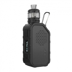 Authentic Wismec Active 80W with Bluetooth Music TC Temperature Control Mod+ Amor NS Plus Tank 4.5ml Kit - Black