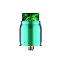 Authentic VOOPOO Pericles 24mm RDA Rebuildable Dripping Atomizer - Rainbow Green