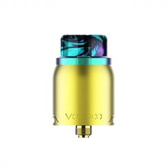 Authentic VOOPOO Pericles 24mm RDA Rebuildable Dripping Atomizer - Rainbow Gold