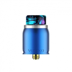 Authentic VOOPOO Pericles 24mm RDA Rebuildable Dripping Atomizer - Silver Blue