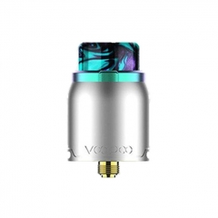 Authentic VOOPOO Pericles 24mm RDA Rebuildable Dripping Atomizer - Rainbow Silver