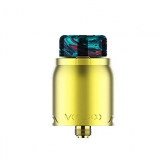 Authentic VOOPOO Pericles 24mm RDA Rebuildable Dripping Atomizer - Gold