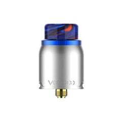 Authentic VOOPOO Pericles 24mm RDA Rebuildable Dripping Atomizer - Blue Silver