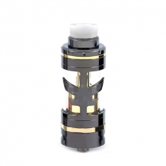 ULTON VG V5M 25mm RTA Style Rebuildable Tank Atomizer 8ml - Gun Metal + Gold