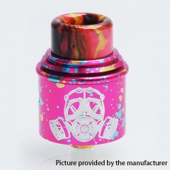 Apocalypse Style 24mm RDA Rebuildable Dripping Atomizer w/BF Pin - Pink Dot