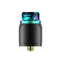 Authentic VOOPOO Pericles 24mm RDA Rebuildable Dripping Atomizer - Rainbow Black