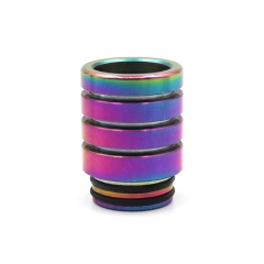 810 Replacement Drip Tip 15.5mm - Rainbow