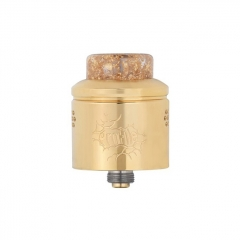 Authentic Wotofo Profile 24mm RDA Rebuildable Dripping Atomizer w/ BF Pin - Gold