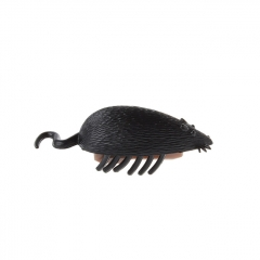 Crawl Vibration Scary Lifelike Mouse Trick Toy - Black