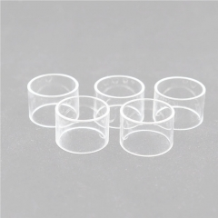 Clrane Replacement Glass Tank for Wotofo Serpent 25 RTA Atomizer 4.5ml (5pcs) - Transparent