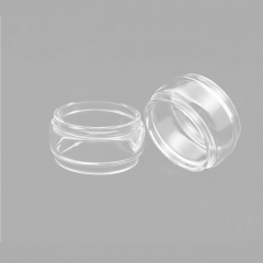 Clrane Replacement Glass Tank for Geekvape Zeus Dual Atomizer 5.5ml (5pcs) - Transparent