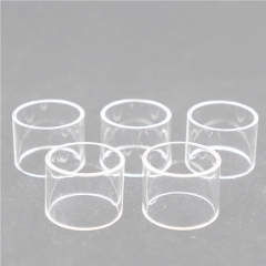 Clrane Replacement Glass Tank for Digiflavor Pharaoh Mini RTA Atomizer 2ml (5pcs) - Transparent