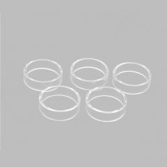 Clrane Replacement Glass Tank for Geekvape Blitzen 24 RTA Atomizer 2ml (5pcs) - Transparent