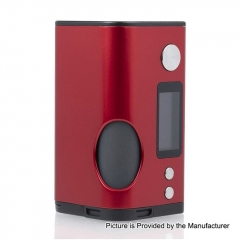 Authentic Dovpo Basium 180W VV VW Variable Wattage Squonk Box Mod w/6ml Bottle  - Red