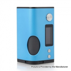 Authentic Dovpo Basium 180W VV VW Variable Wattage Squonk Box Mod w/6ml Bottle - Blue