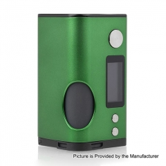 Authentic Dovpo Basium 180W VV VW Variable Wattage Squonk Box Mod w/6ml Bottle - Green