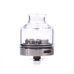 Authentic Steam Crave Glaz 30mm RDSA Rebuildable Dripping Atomizer - Silver