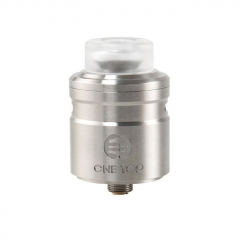 Authentic One Top Onetopvape Gemini 26.5mm RDTA Rebuildable Dripping Tank Atomizer - Silver