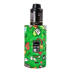 Authentic Vapor Storm Puma 200W TC VW APV Mod Kit w/2ml Clearomizer - Football