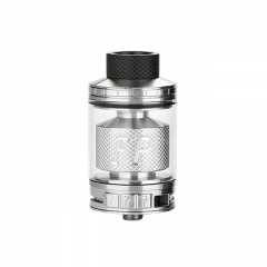 Authentic Blitz FP 30mm RTA Rebuildable Tank Atomizer 6ml - Silver
