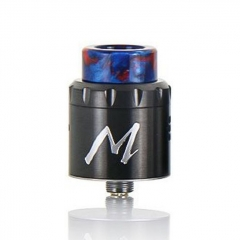 Authentic Tigertek Momentum 24mm RDA Rebuildable Dripping Atomizer w/ BF Pin - Gun Metal