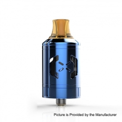 Pre-Sale Authentic Hugsvape Chalice 24mm MTL RTA Rebuildable Tank Atomizer 2ml - Blue