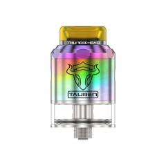 Thunderhead Creations Tauren BF 24mm RDTA Rebuildable Dripping Tank Atomizer w/BF Pin 2ml - Rainbow