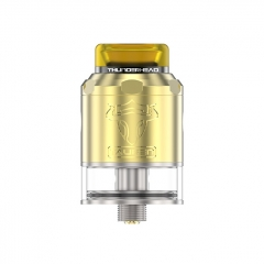 Thunderhead Creations Tauren BF 24mm RDTA Rebuildable Dripping Tank Atomizer w/BF Pin 2ml - Brass