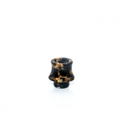 510 Fuji Drip Tip for RDA / RTA / Sub Ohm Tank Atomizer 15mm (1pc) - Black Resin
