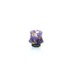 510 Fuji Drip Tip for RDA / RTA / Sub Ohm Tank Atomizer 15mm (1pc) - Purple Resin