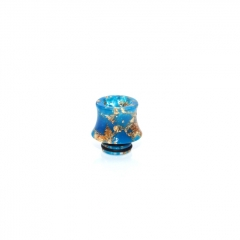 510 Fuji Drip Tip for RDA / RTA / Sub Ohm Tank Atomizer 15mm (1pc) - Blue Resin