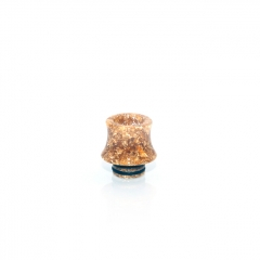 510 Fuji Drip Tip for RDA / RTA / Sub Ohm Tank Atomizer 15mm (1pc) - Gold Resin