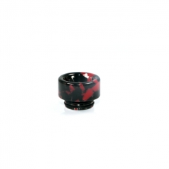 810 Replacement Drip Tip for TFV8 / TFV12 Tank / Goon / Kennedy / Reload RDA 13mm (1pc) - Black Red