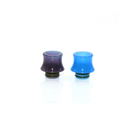 Replacement 510 Discoloration Drip Tip for RTA/RDA 8mm (1pc) -#C Purple