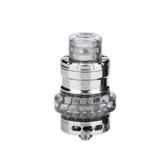 Authentic Advken Manta Mesh 24mm Sub Ohm Tank Atomizer 4.5ml - Silver