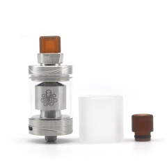 Authentic Cthulhu Hastur 24mm MTL RTA Rebuildable Tank Atomizer 3.5ml - Silver