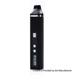 Authentic Hugo Vapor Pathfinder V2 2200mAh TC Dry Herb Wax Vaporizer Kit 0.7ohm - Black