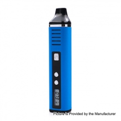 Authentic Hugo Vapor Pathfinder V2 2200mAh TC Dry Herb Wax Vaporizer Kit 0.7ohm - Blue