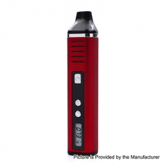 Authentic Hugo Vapor Pathfinder V2 2200mAh TC Dry Herb Wax Vaporizer Kit 0.7ohm - Red