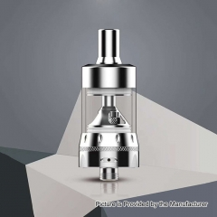 Authentic Auro Salt 22mm MTL Tank Clearomizer 2ml (1.8 Ohm/1.5 Ohm) - Silver