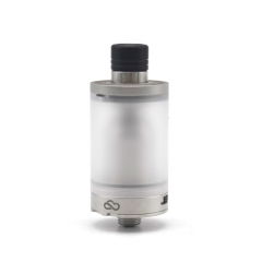 Coppervape CloudOne Blasted V4 22mm 316SS Style RTA Rebuildable Tank Atomizer 3.7ml - Silver