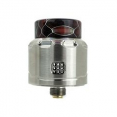 Authentic Asmodus C4 24mm RDA Rebuildable Dripping Atomizer w/ BF Pin - Silver